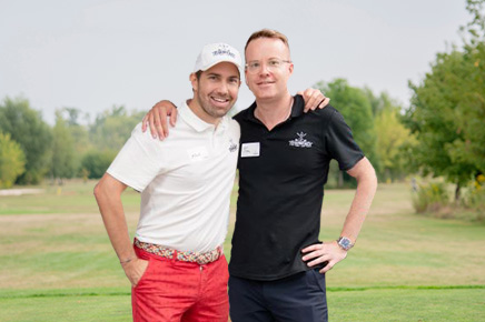 Albert und tim vom Founders Golf Cup